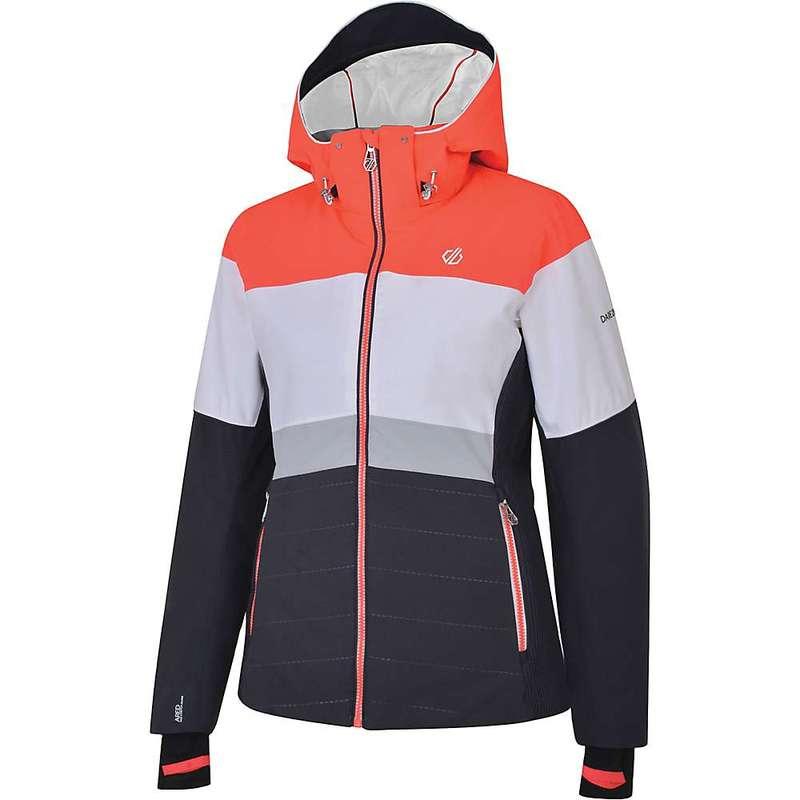 デアツービー レディース ジャケット・ブルゾン アウター Dare 2B Women's Avowal Jacket Ebony Grey / White / Fiery Coral