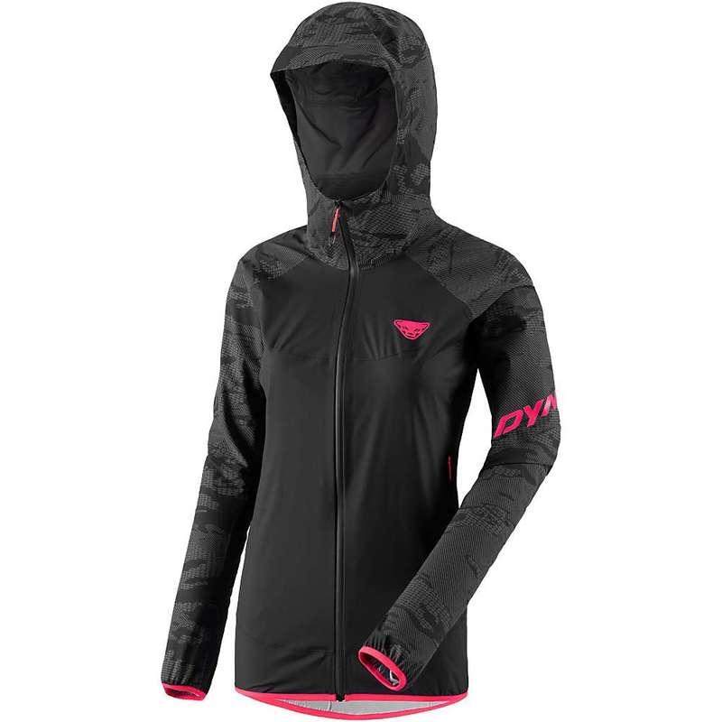 ダイナフィット レディース ジャケット・ブルゾン アウター Dynafit Women's Speed 3L Reflective Jacket Black Out Camo