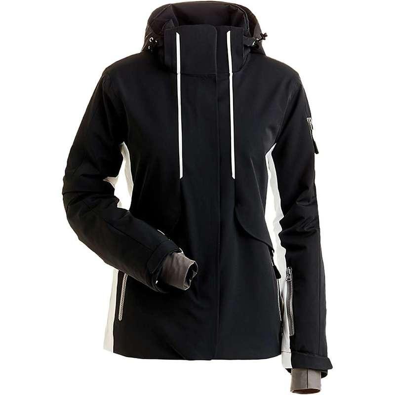 ニルズ レディース ジャケット・ブルゾン アウター NILS Women's Harlow Jacket Black / White