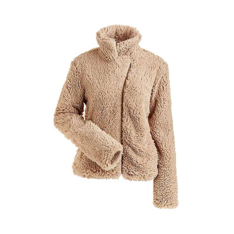 ニルズ レディース ジャケット・ブルゾン アウター NILS Women's Lisie Short Fuzzy Coat Champagne