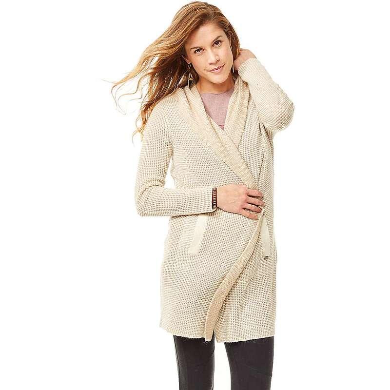 カーブデザイン レディース ジャケット・ブルゾン アウター Carve Designs Women's Alamosa Hooded Coat Camel / Sherpa