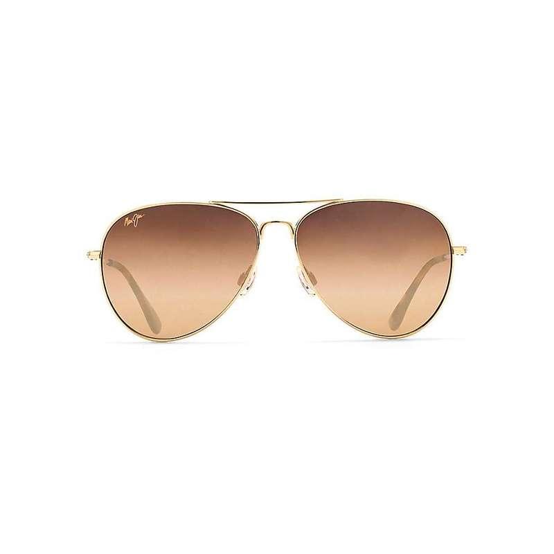 マウイジム メンズ サングラス・アイウェア アクセサリー Maui Jim Mavericks Polarized Sunglasses Gold / HCL Bronze Polarized