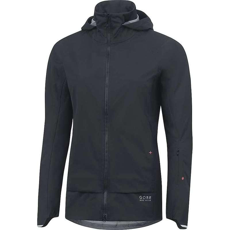 ゴアウェア レディース ジャケット・ブルゾン アウター Gore Wear Women's Power Trail Lady GTX Active Jacket Black
