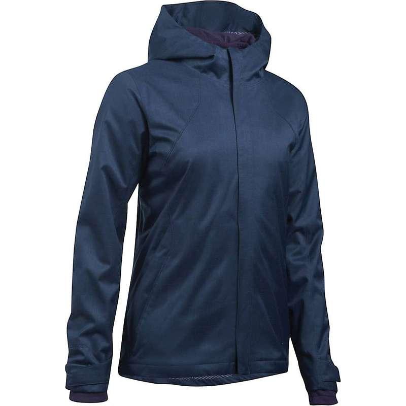 アンダーアーマー レディース ジャケット・ブルゾン アウター Under Armour Women's UA ColdGear Infrared Sienna 3-In-1 Jacket Midnight Navy / Premier Purple / Stealth Grey