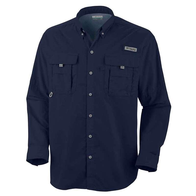 コロンビア メンズ シャツ トップス Columbia Men's Bahama II LS Shirt Collegiate Navy