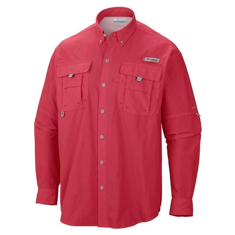 コロンビア メンズ シャツ トップス Columbia Men's Bahama II LS Shirt Sunset Red