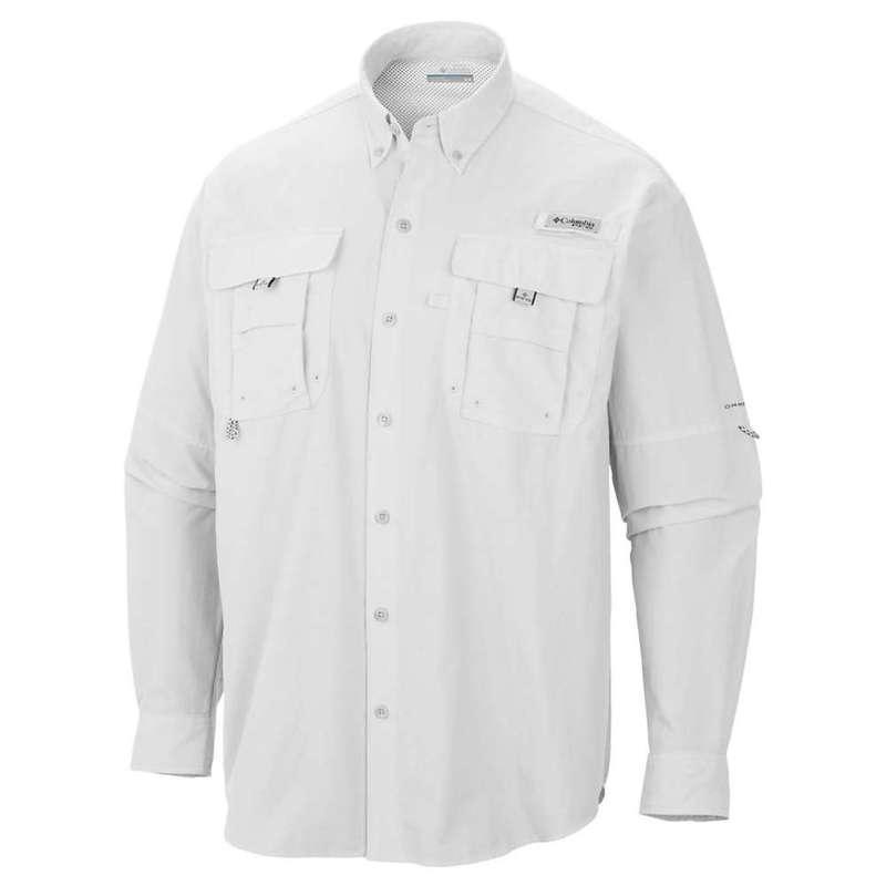 コロンビア メンズ シャツ トップス Columbia Men's Bahama II LS Shirt White