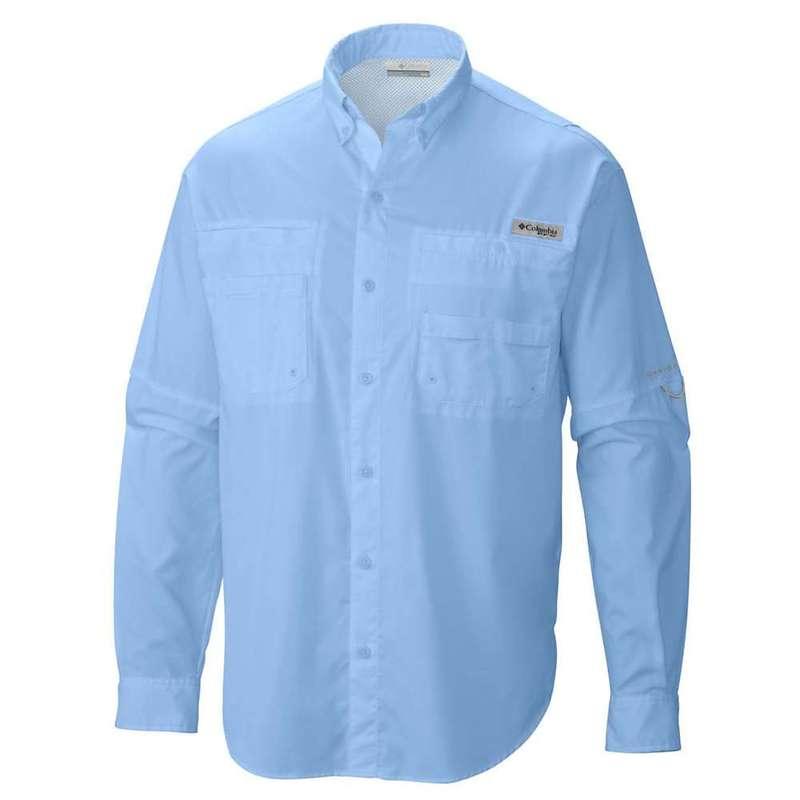 コロンビア メンズ シャツ トップス Columbia Men's Tamiami II LS Shirt Sail