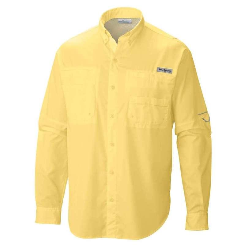 コロンビア メンズ シャツ トップス Columbia Men's Tamiami II LS Shirt Sunlit