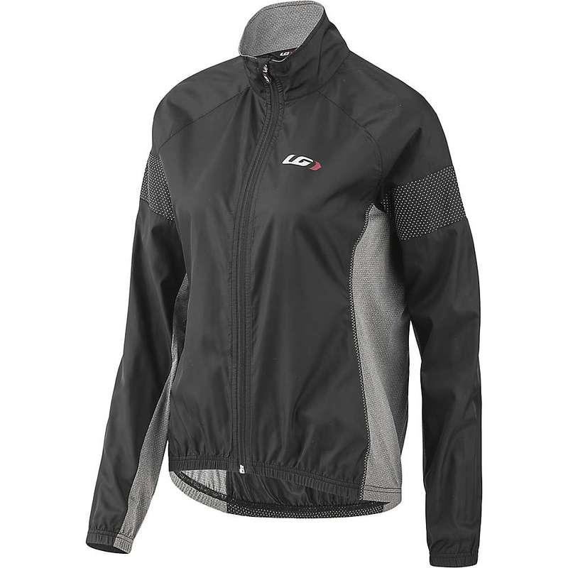 イルスガーナー レディース ジャケット・ブルゾン アウター Louis Garneau Women's Modesto 3 Jacket Black / Gray