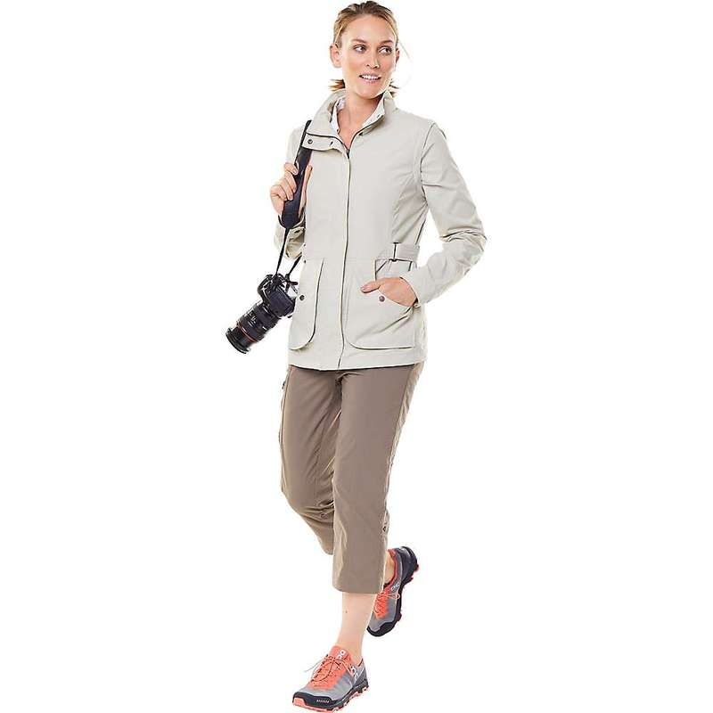 ロイヤルロビンズ レディース ジャケット・ブルゾン アウター Royal Robbins Women's Discovery Convertible Jacket Sandstone