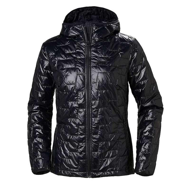 ヘリーハンセン レディース ジャケット・ブルゾン アウター Helly Hansen Women's Lifaloft Hooded Insulator Jacket Black