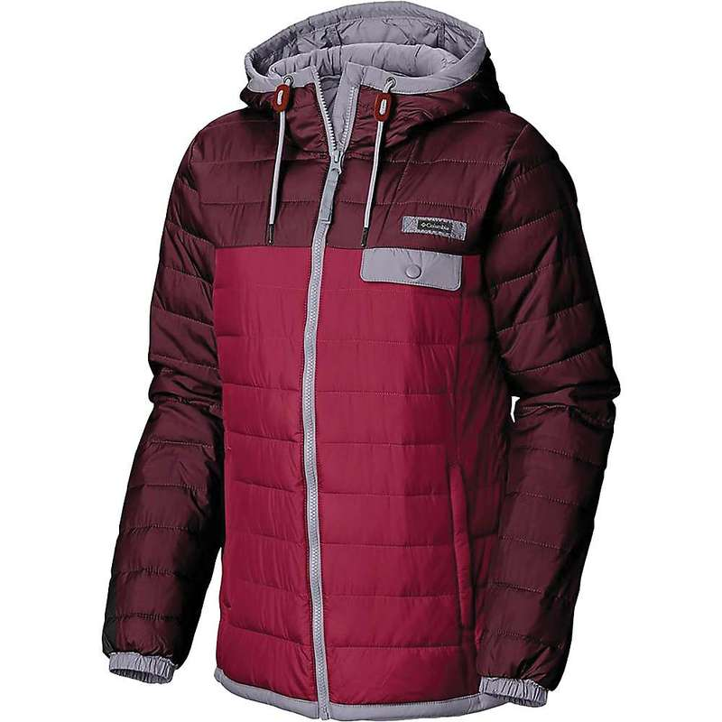 コロンビア レディース ジャケット・ブルゾン アウター Columbia Women's Mountainside Full Zip Jacket Pomergranate/Rich Wine