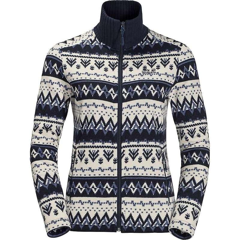 ジャックウルフスキン レディース ジャケット・ブルゾン アウター Jack Wolfskin Women's Nordic Jacket Midnight Blue All Over