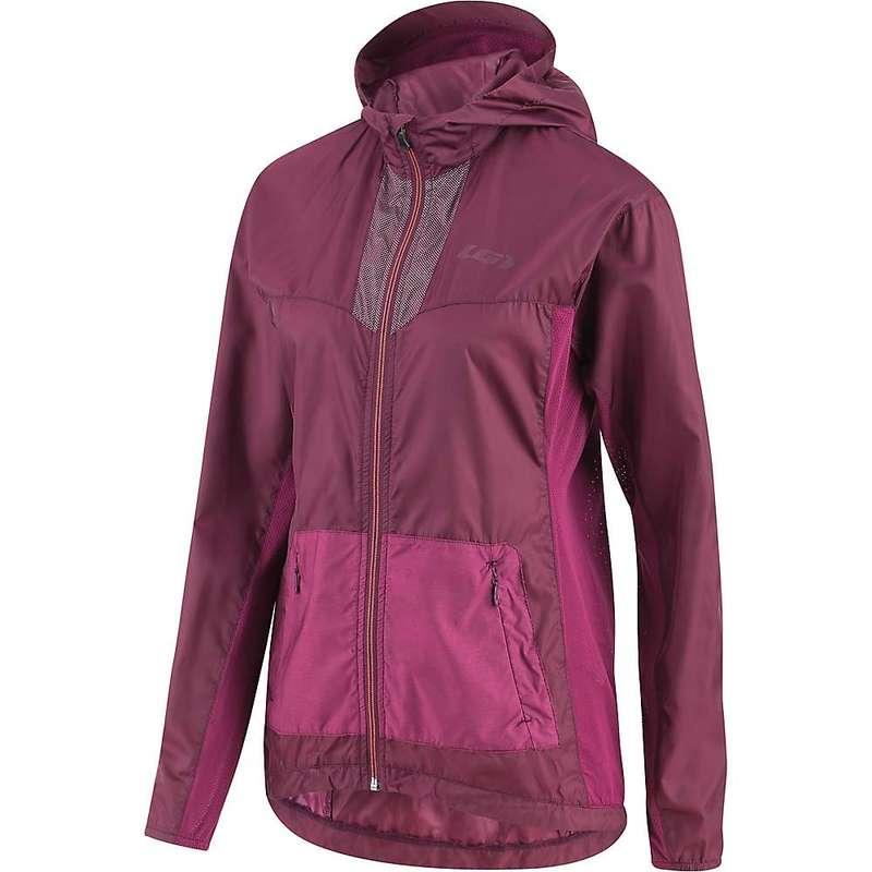 イルスガーナー レディース ジャケット・ブルゾン アウター Louis Garneau Women's Modesto Hoodie Jacket Shiraz