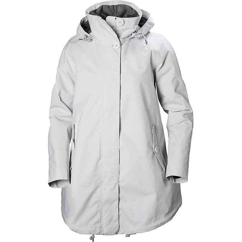 ヘリーハンセン レディース ジャケット・ブルゾン アウター Helly Hansen Women's Sendai Rain Coat NIMBUS CLOUD