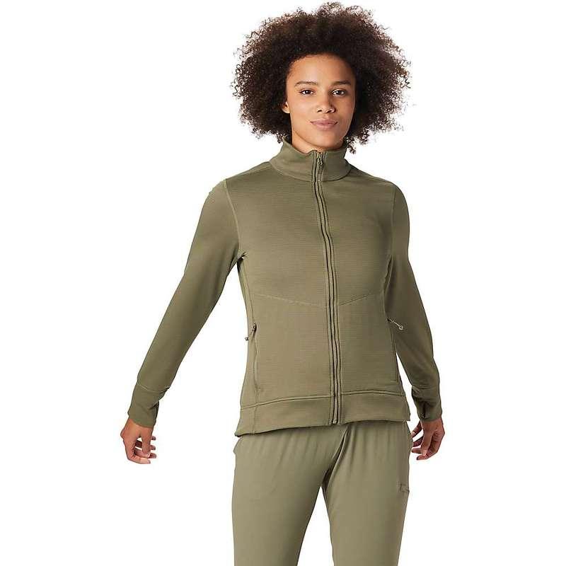 マウンテンハードウェア レディース ジャケット・ブルゾン アウター Mountain Hardwear Women's Norse Peak Full Zip Jacket Light Army