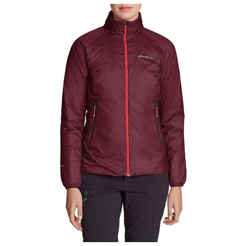エディー バウアー レディース ジャケット・ブルゾン アウター Eddie Bauer First Ascent Women's Evertherm Down Jacket Dark Berry