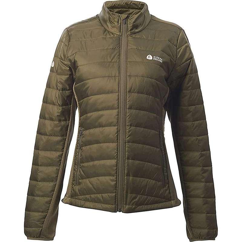 シェラデザインズ レディース ジャケット・ブルゾン アウター Sierra Designs Women's Tuolumne Sweater Olive/Black
