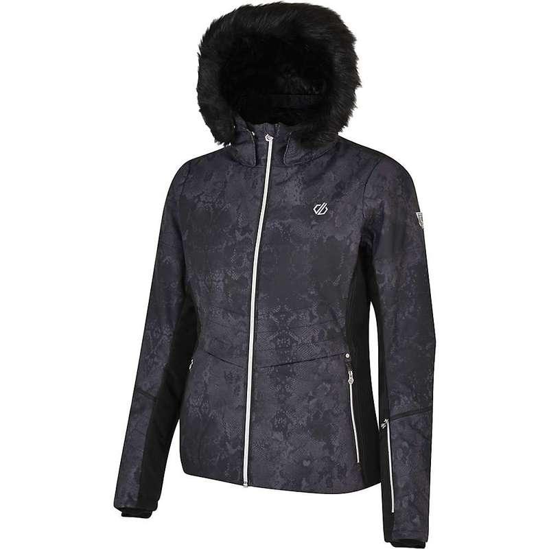 デアツービー レディース ジャケット・ブルゾン アウター Dare 2B Women's Iceglaze Jacket Black Snakeskin Print