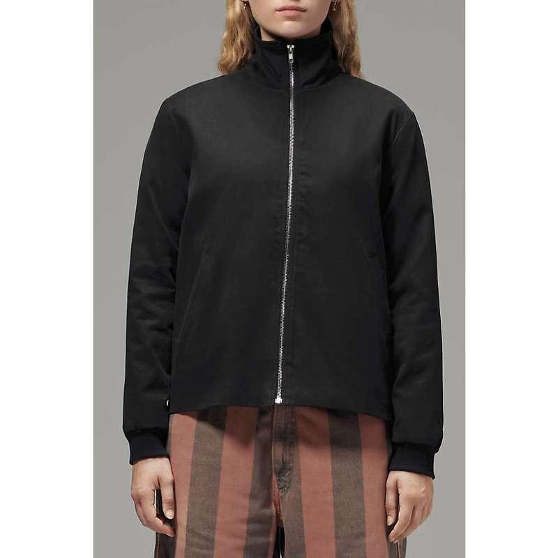 フードラム レディース ジャケット・ブルゾン アウター Hoodlamb Women's Side Zip Jacket Black