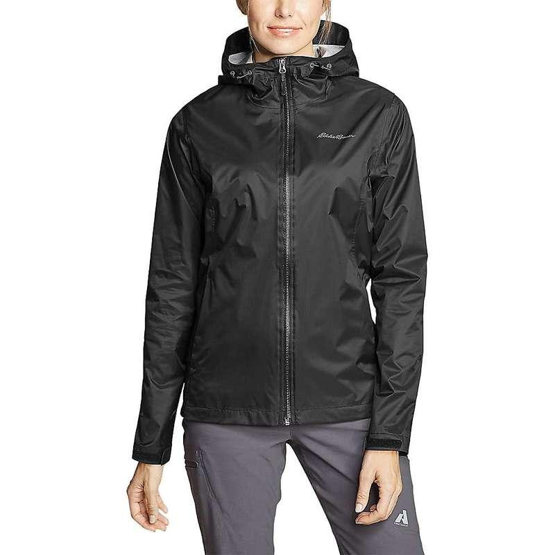 エディー バウアー レディース ジャケット・ブルゾン アウター Eddie Bauer Women's Cloud Cap Rain Jacket Black