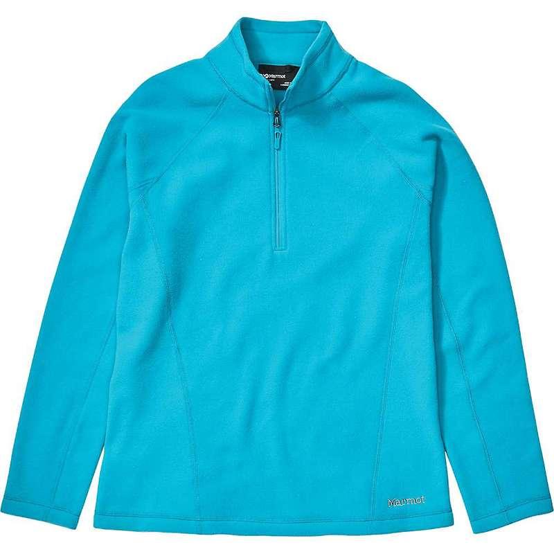 マーモット レディース ジャケット・ブルゾン アウター Marmot Women's Rocklin 1/2 Zip Top Enamel Blue