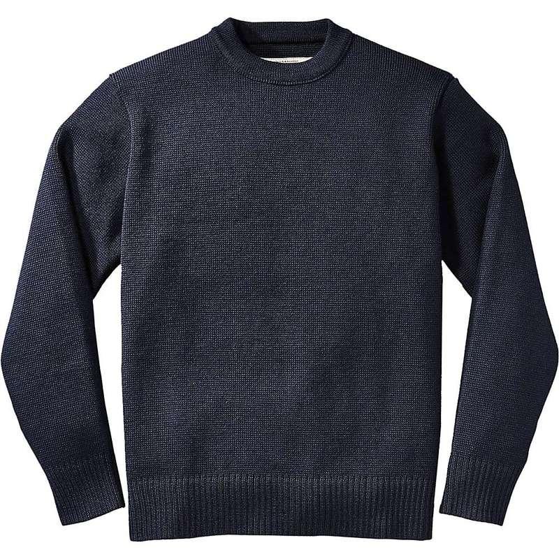 フィルソン メンズ ニット・セーター アウター Filson Men's Crewneck Guide Sweater Dark Navy