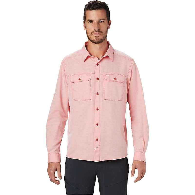 マウンテンハードウェア メンズ シャツ トップス Mountain Hardwear Men's Canyon LS Shirt Desert Red