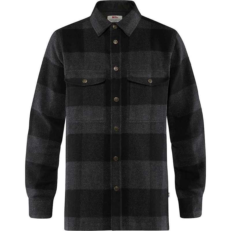 フェールラーベン メンズ シャツ トップス Fjallraven Men's Canada Shirt Black