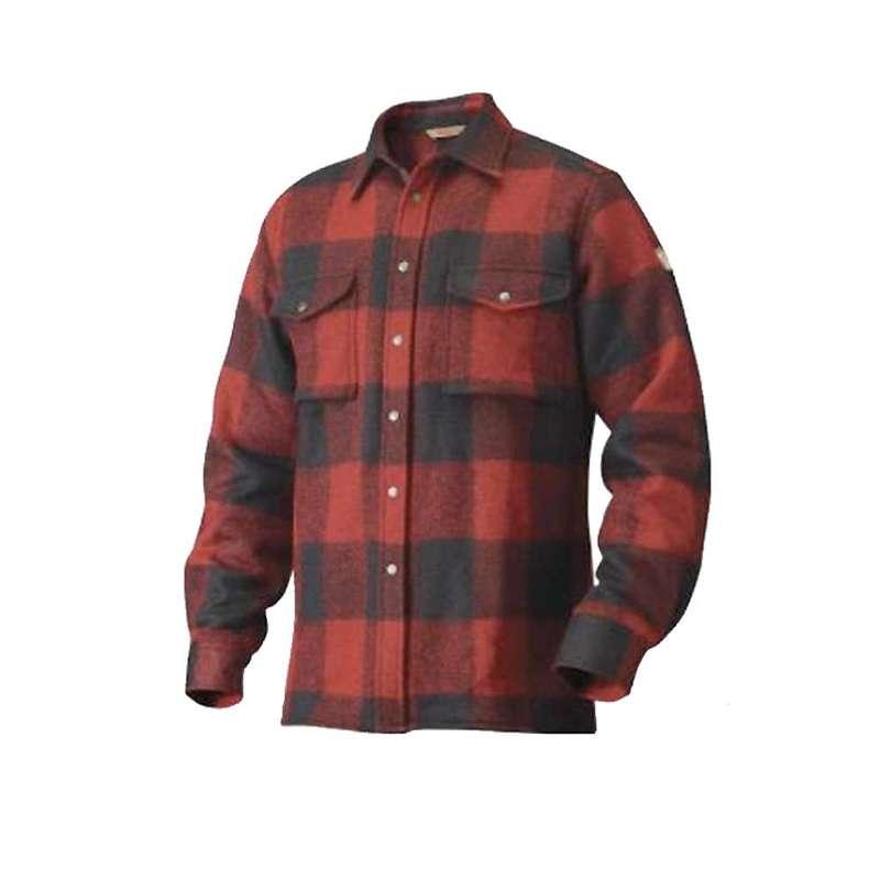 フェールラーベン メンズ シャツ トップス Fjallraven Men's Canada Shirt Red