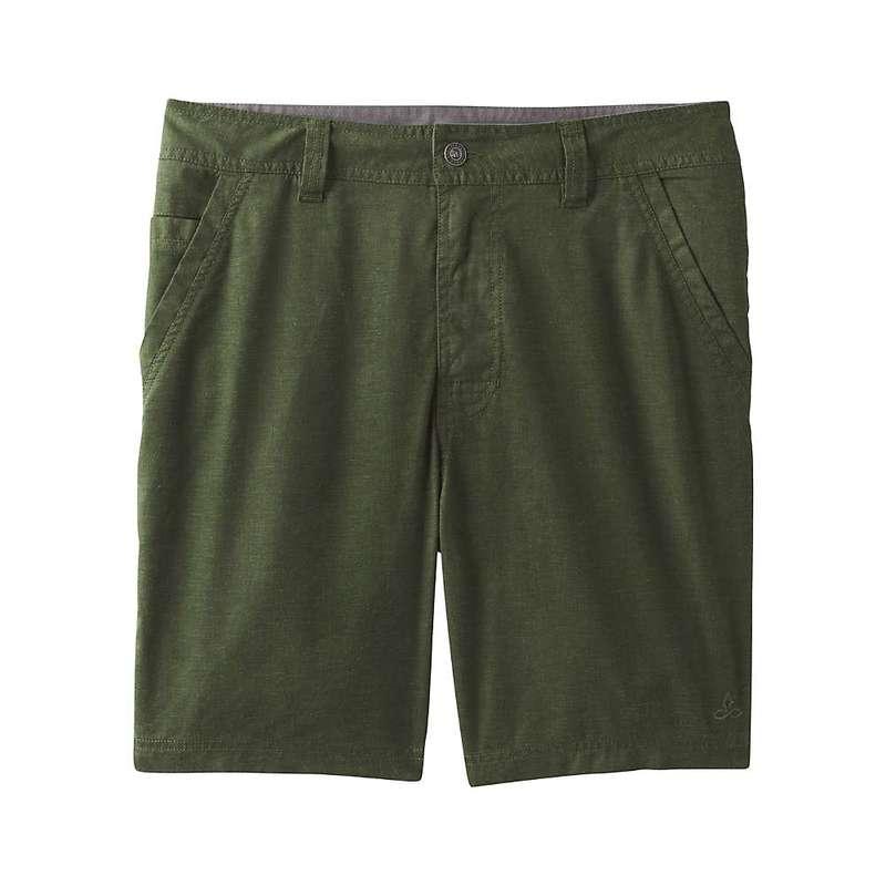 プラーナ メンズ ハーフパンツ・ショーツ ボトムス Prana Men's Furrow Short Nori Green