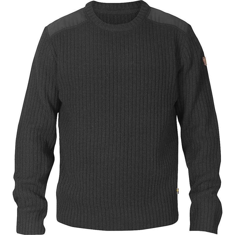 フェールラーベン メンズ ニット・セーター アウター Fjallraven Men's Singi Knit Sweater Dark Grey