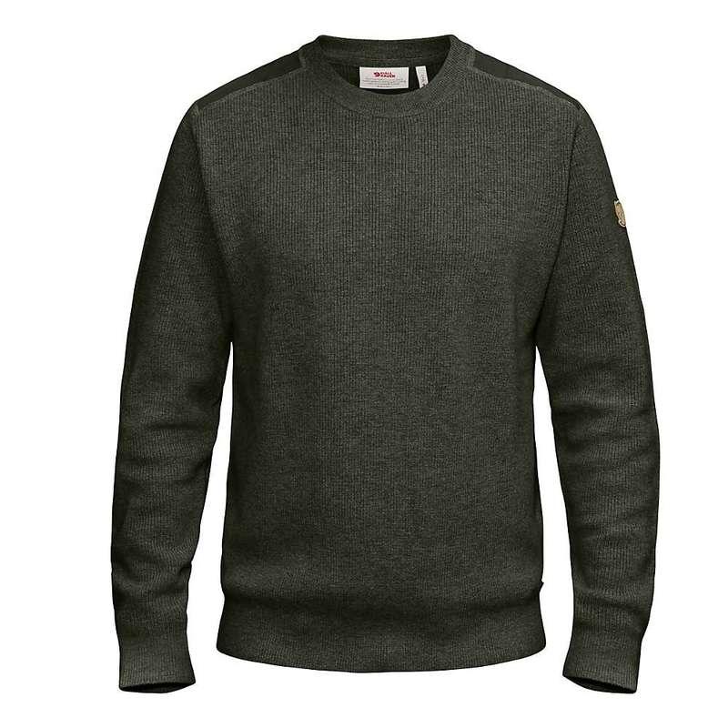 フェールラーベン メンズ ニット・セーター アウター Fjallraven Men's Sormland Crew Sweater Deep Forest
