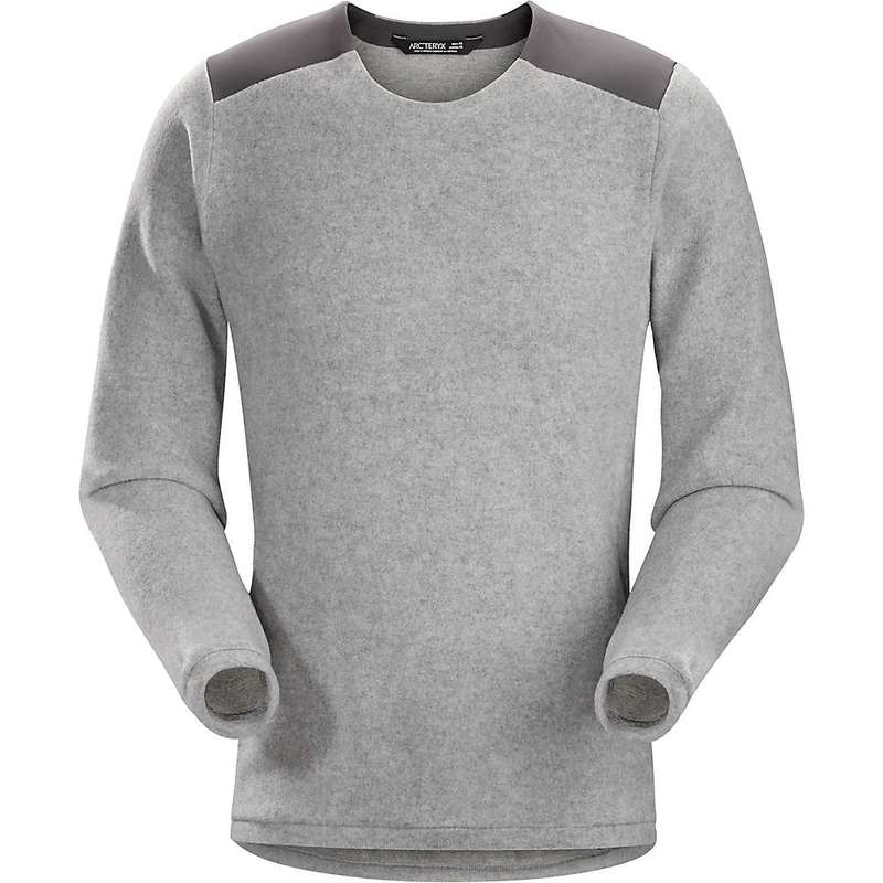 アークテリクス メンズ ニット・セーター アウター Arcteryx Men's Donavan Crew Neck Sweater Light Grey Heather