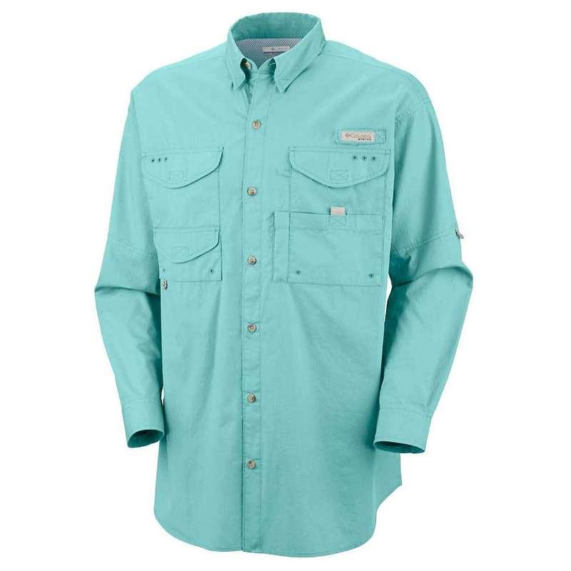 コロンビア メンズ シャツ トップス Columbia Men's Bonehead LS Shirt Gulf Stream