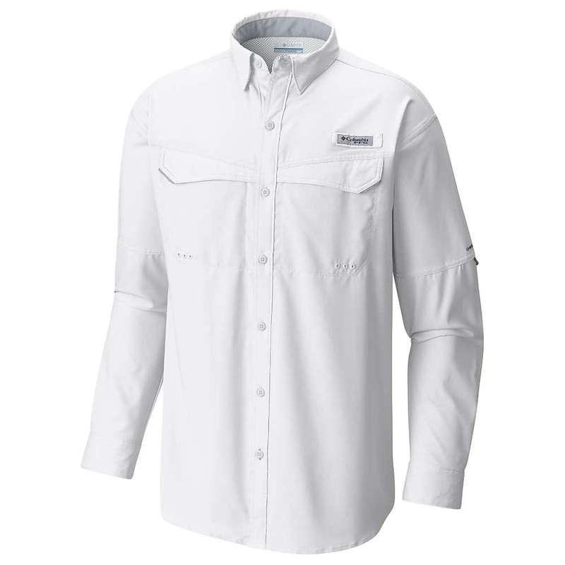 コロンビア メンズ シャツ トップス Columbia Men's Low Drag Offshore LS Shirt White