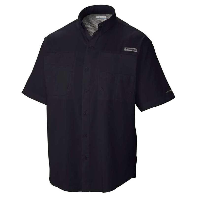 コロンビア メンズ シャツ トップス Columbia Men's Tamiami II SS Shirt Black