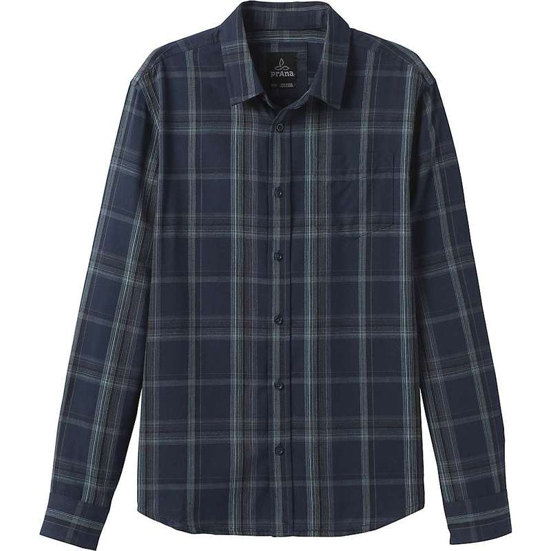 プラーナ メンズ シャツ トップス Prana Men's Shayne LS Flannel Shirt Nautical