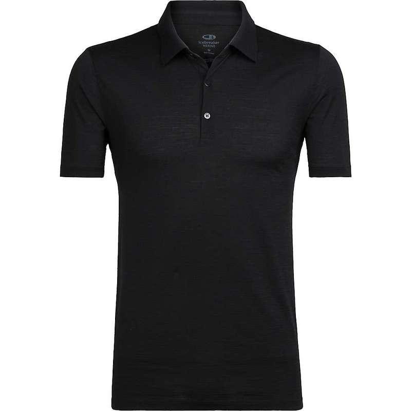 アイスブレーカー メンズ シャツ トップス Icebreaker Men's Tech Lite SS Polo Shirt Black