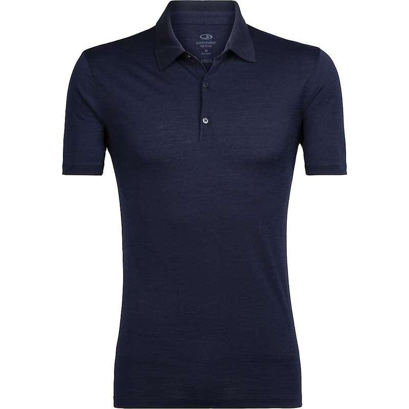 アイスブレーカー メンズ シャツ トップス Icebreaker Men's Tech Lite SS Polo Shirt Midnight Navy