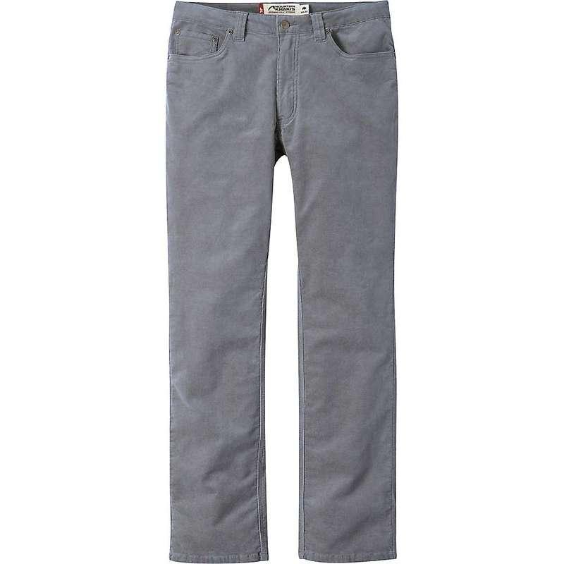 マウンテンカーキス メンズ カジュアルパンツ ボトムス Mountain Khakis Men's Slim Fit Canyon Cord Pant Ash