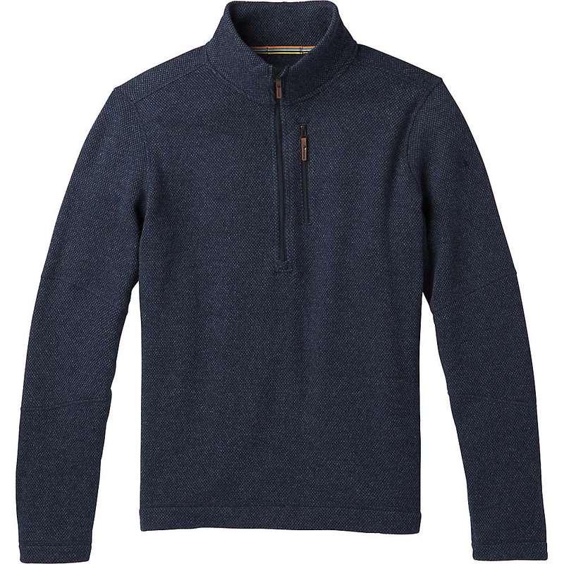 スマートウール メンズ ニット・セーター アウター Smartwool Men's Hudson Trail Fleece Half Zip Sweater Navy