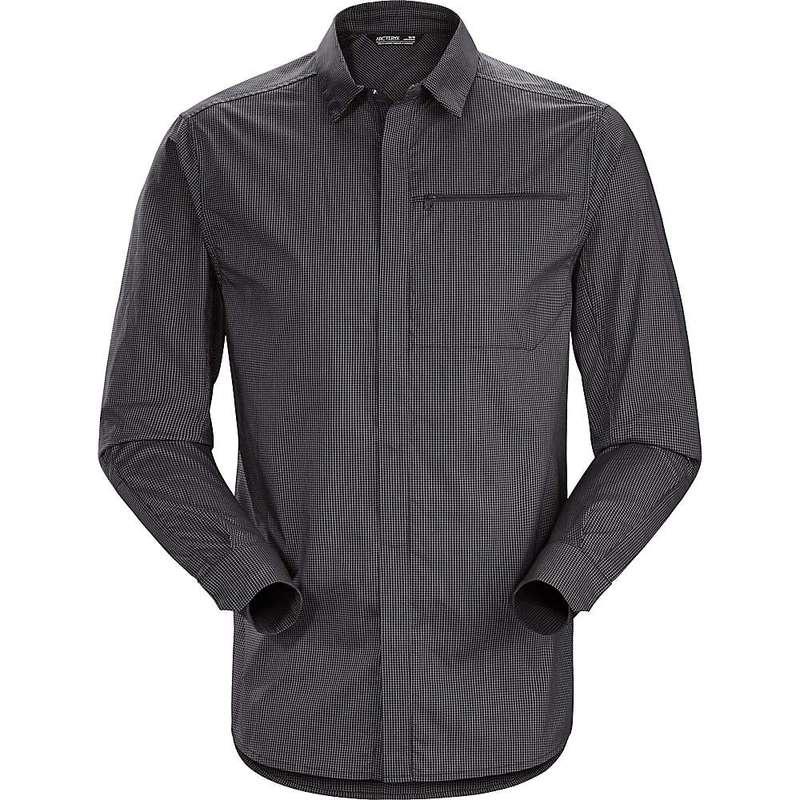 アークテリクス メンズ シャツ トップス Arcteryx Men's Kaslo LS Shirt Carbon Copy