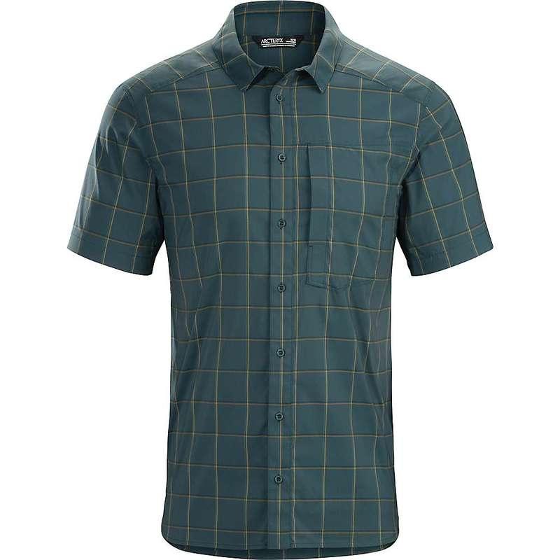 アークテリクス メンズ シャツ トップス Arcteryx Men's Riel SS Shirt Astrosphere