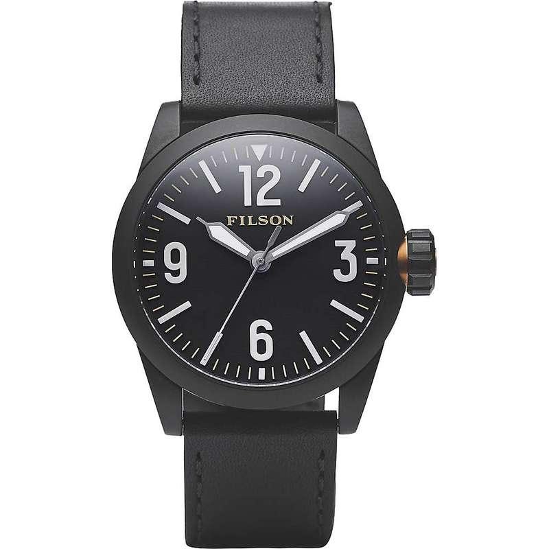 フィルソン メンズ 腕時計 アクセサリー Filson Standard Issue Field Watch Black