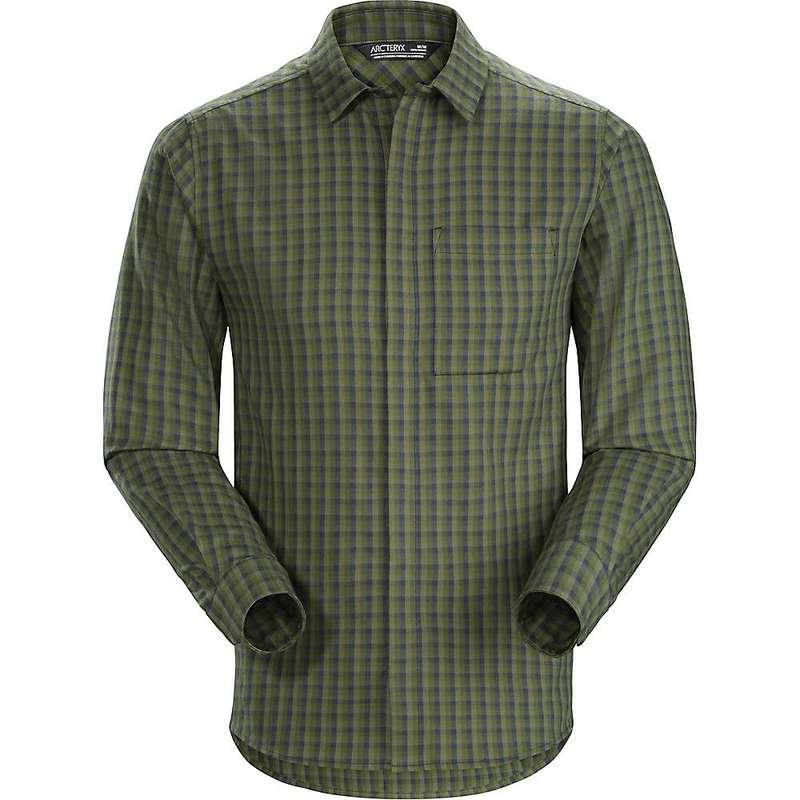 アークテリクス メンズ シャツ トップス Arcteryx Men's Bernal LS Shirt Viridios