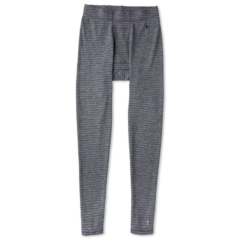 スマートウール メンズ カジュアルパンツ ボトムス Smartwool Men's Merino 250 Baselayer Pattern Bottom Medium Gray Tick Stitch