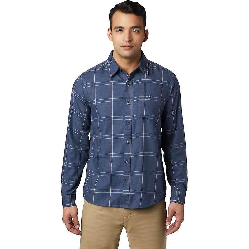 マウンテンハードウェア メンズ シャツ トップス Mountain Hardwear Men's Burney Falls LS Shirt Zinc
