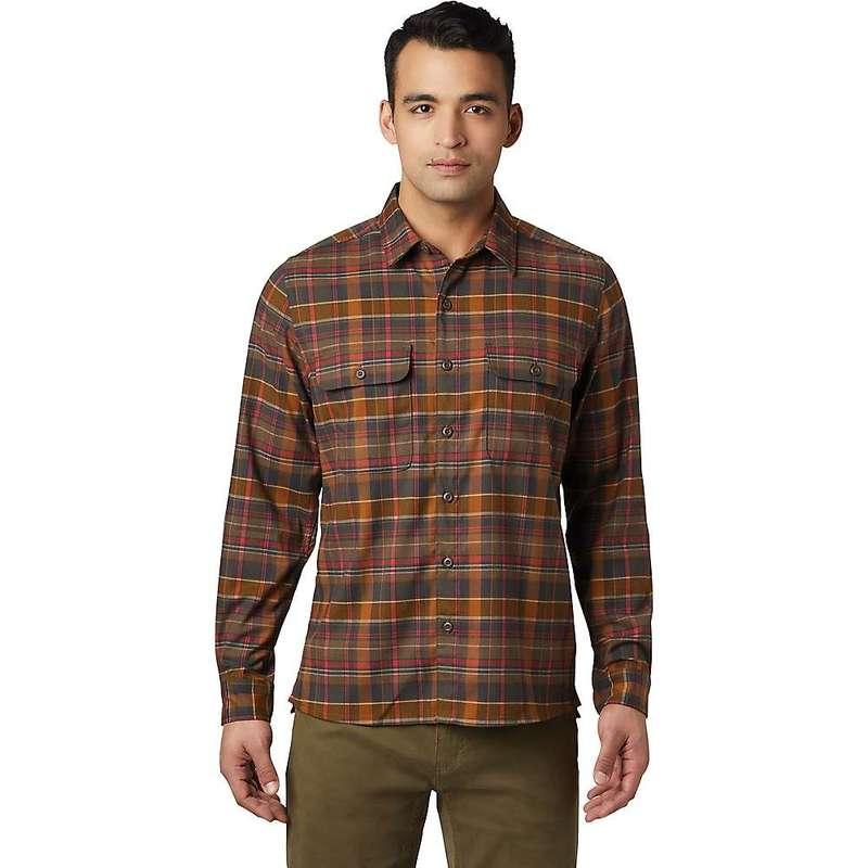 マウンテンハードウェア メンズ シャツ トップス Mountain Hardwear Men's Voyager One Shirt Golden Brown